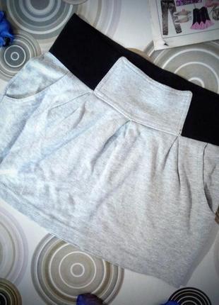 Спортивка спідниця terranova/ спортивная мини юбка