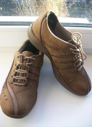 Туфли мокасины  женские натуральная кожа clarks р.37