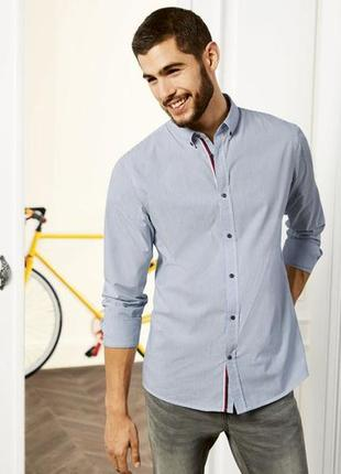 Рубашка мужская с длинным рукавом германия livergy.евро размер хл.есть замеры!