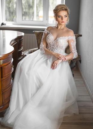 Продам свадебное платье crystal design royal garden