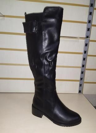 Зимние высокие сапожки женские зима сапоги жіночі чоботи зимові