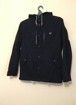 Куртка cиня fred perry