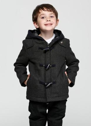 Шерстяное пальто brooksfield 4а