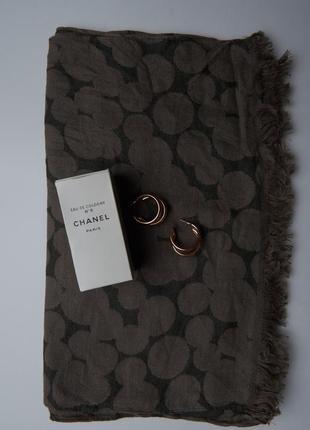 Шарф mexx жіночий хакі шаль женская хаки серая шарф серый палантин женский платок