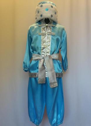 Карнавальный костюм морозко.
