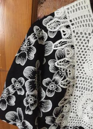 Котоновое платье zara