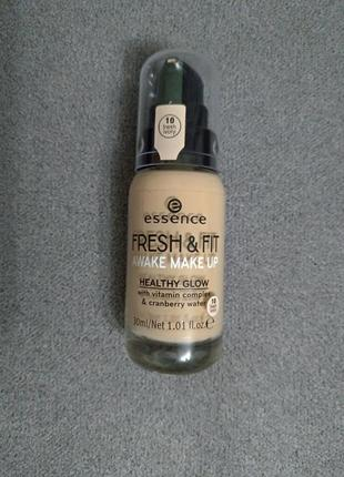 Тональна основа essence fresh & fit 10 fresh ivory
