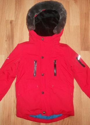 Куртка ted baker на мальчика 4-5 лет.
