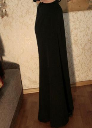 Юбка в пол длинная черная винтаж ретро