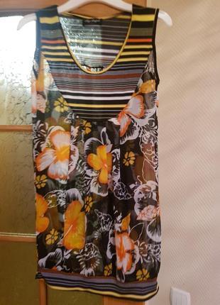 Яркая# летняя# блуза #цветы#италия