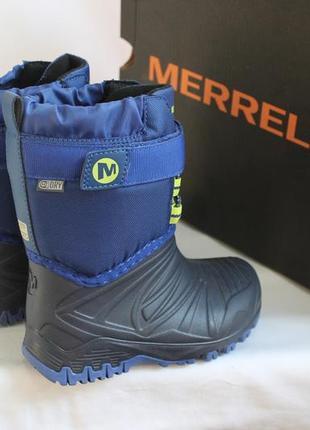Зимние сапоги merrell , амер. 8, европ-25, по стельке-15, 2 см