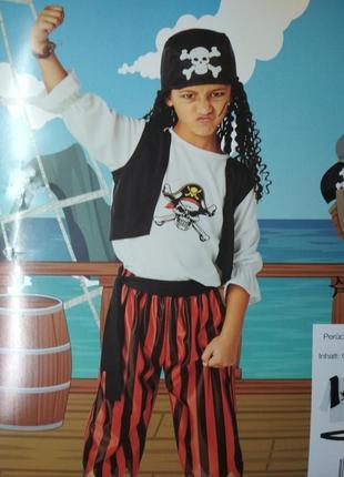 Карнавальный костюм пирата, р.110-122