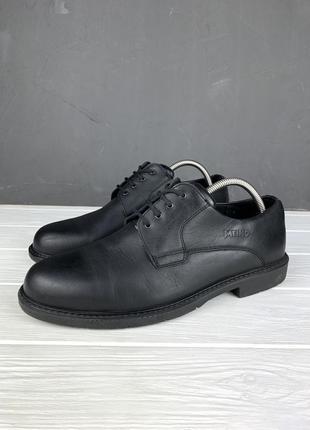 Туфли мужские meindl original кожаные 45 чёрные ботинки