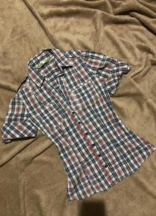 Рубашка , сорочка в клітинку