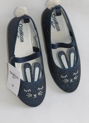 Красивые туфельки carters, амер. -10, европ. 27, 5-28, стелька-17,8 см