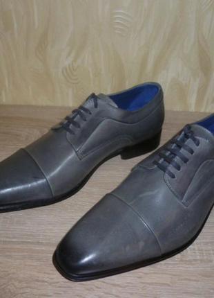 Кожаные туфли san marina (сан марина) 42р.