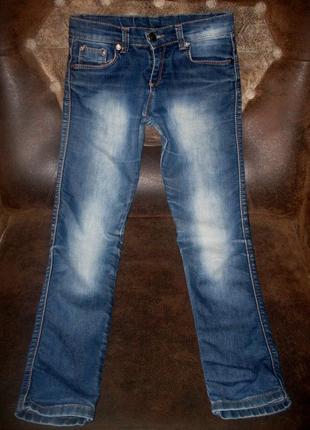 Брюки штаны джинсовые tory burch на рост 134 см