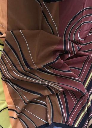 100% шелковый платок