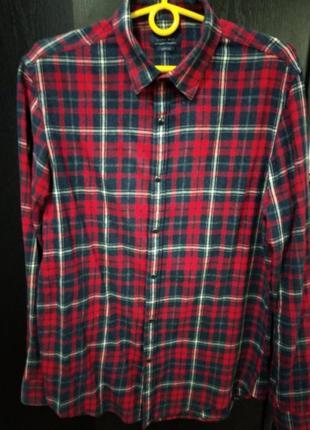Теплая рубашка от zara
