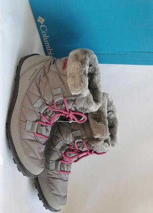 Зимние сапоги columbia, европейский размер-39-39,5, по стельке-26 см