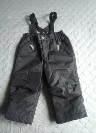 Lassie by reima 2-3года полукомбинезон зимний, мембранный штаны лыжные дождевик