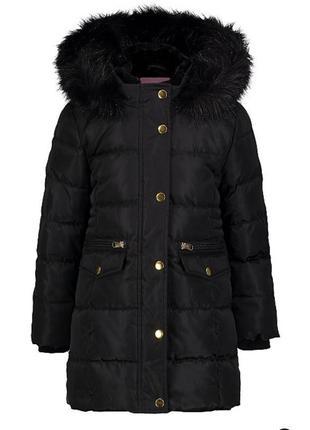 Зимнее пальто девочке george 128 8-9 лет