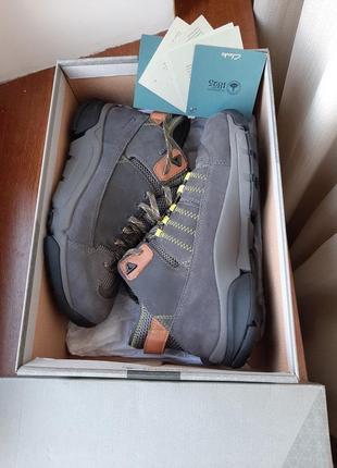 Кожаные ботинки clarks outflex gtx