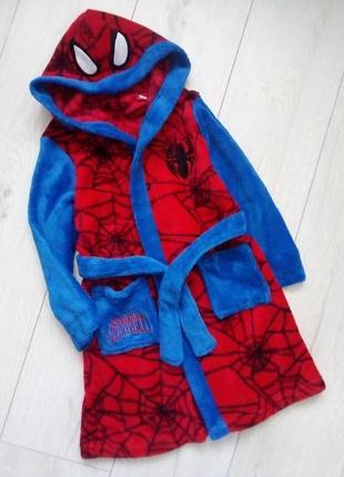 Комфортный банный халат spider man