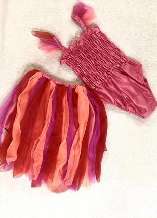 Карнавальный костюм на девочку 3-4 года