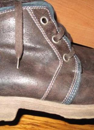 Коричневі черевички шкіра josef seibel р39