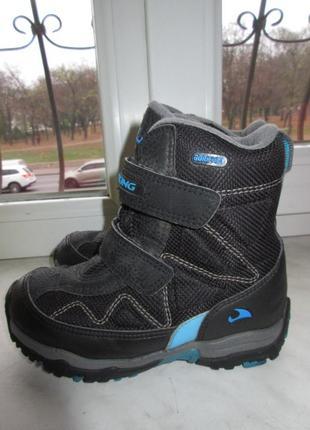 Зимние ботинки viking gore-tex 29 р