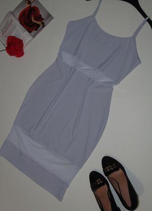 Красивое платье /сарафан со вставками сеточки