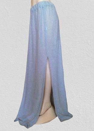 Новая супер длинная трикотажная юбка galaxy, универсальный размер
