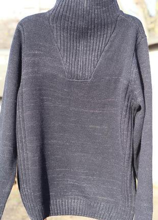 Шикарный мужской свитер jean pascale на высокого