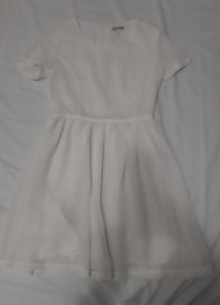 Шыфоновое платье