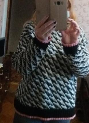 Теплый свитер р.16-18