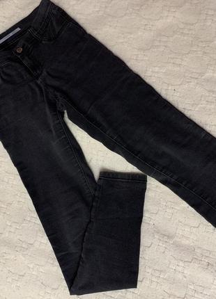 Тёмно-серые джинсы (zara)