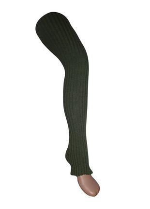 Гетры женские borodina antonina 100 см темно-зеленые (0910)