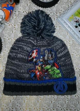 Теплая шапка на мальчика