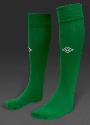 Гетры umbro mens league socks -emerald/white.оригинал. размер 41-46
