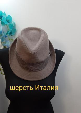 Новая шляпа италия шерсть