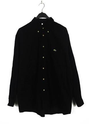 Lacoste вельветовая рубашка