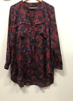 Удлинённая блуза marks&spenser p. 16/44. #228. 1+1=3🎁