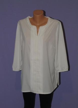 Белая блузочка 16 размера