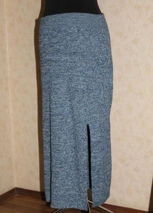 Шерстяная длинная макси миди юбка с разрезом  дёшево распродажа скидка недорого sale