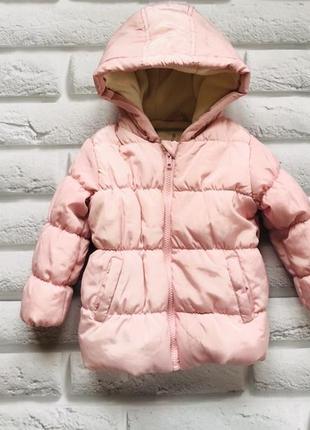 Matalan стильная куртка еврозима  на девочку  12-18 мес