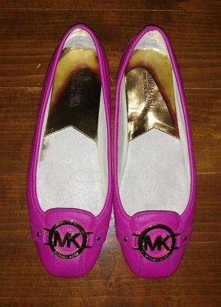 Мокасини балетки туфлі