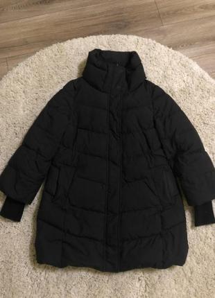Куртка парка пуховик пальто дутая пуфер зефир