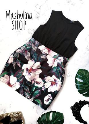 Замечательное платьице с цветочным низом от ax paris