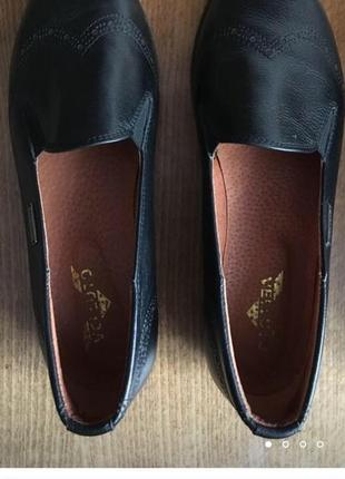 Кожаные туфли-оксфорды